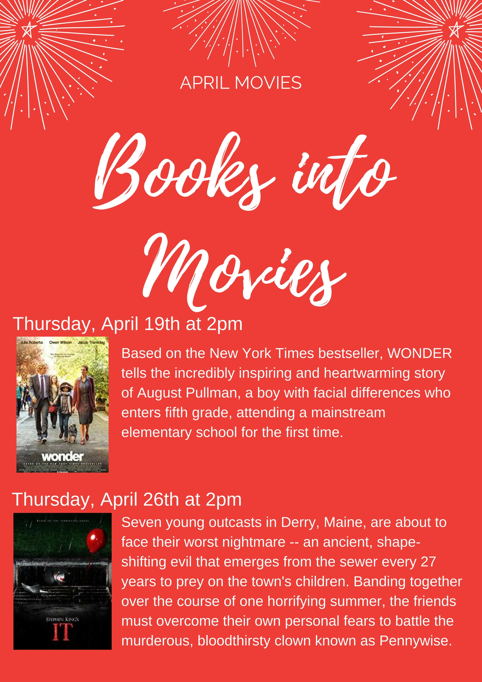 Free Movie Afternoon – Stirling-Rawdon Public Library